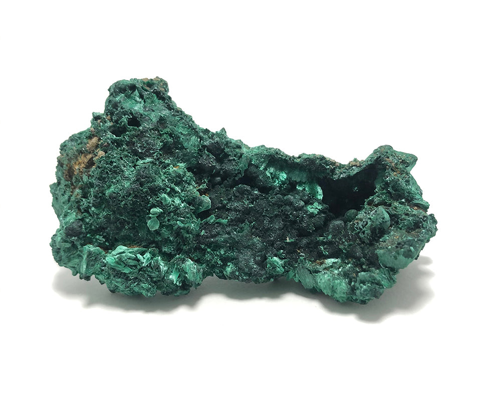 Fibrous Malachite. Alex Lozier Jewelry.