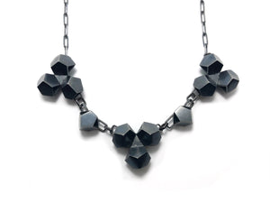 Tri-Triple Hex Necklace