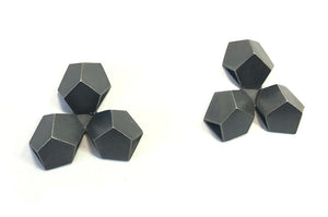 Triple Hex Earring