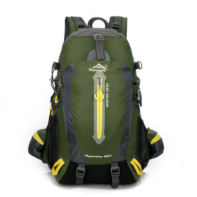 Water-Resistant Hiking Backpack by Hwjianfeng