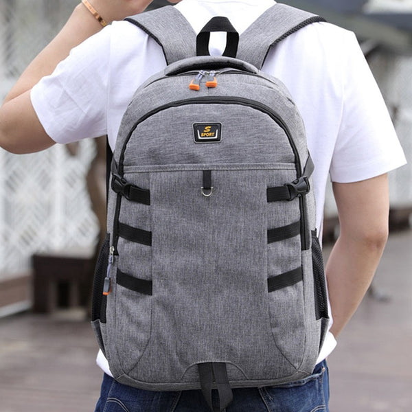 Water-Resistant Casual Backpack by Stephen
