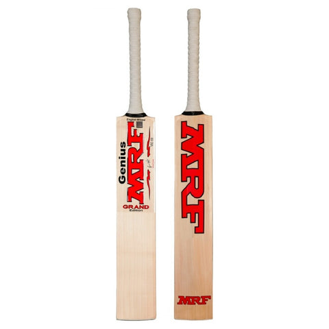 9469f55702 The best players play with the best bats, and this is certainly the case  with the MRF Genius Grand Edition. Used by Virat Kohli and Sachin  Tendulkar, ...