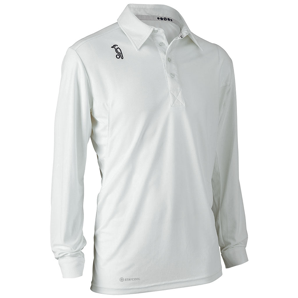 Kookaburra Pro Player Short Sleeve Junior Cricket Shirt