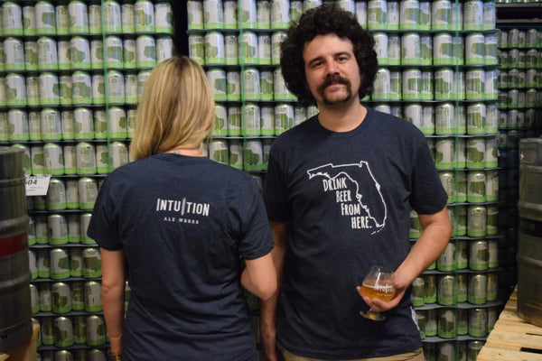 Intuition Beer From Here Tee