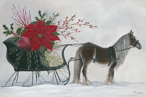 Pony & Poinsettias