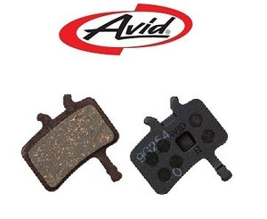 Avid Juicy / BB7 disc brake pads organic