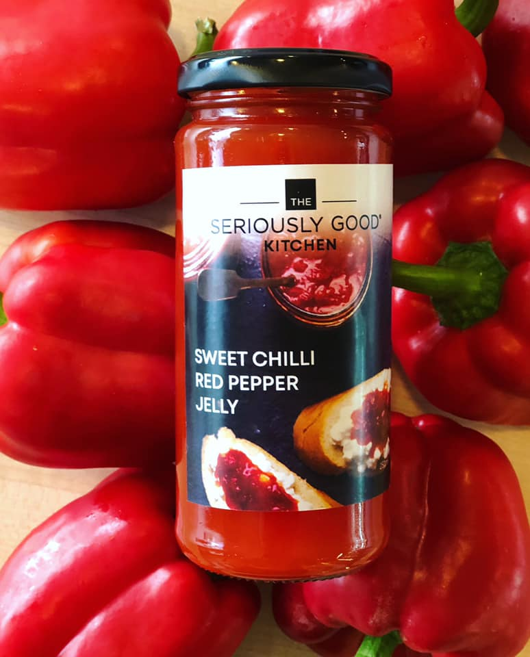 Sweet Chilli Red Pepper Jelly