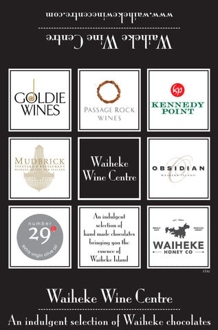 Waiheke Wine Centre Chocolates - 9 Box