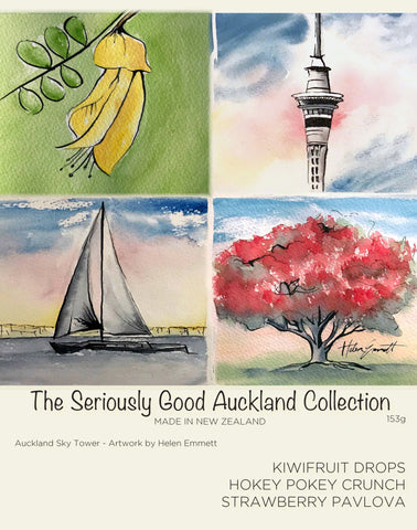 Auckland Watercolour - 9 Box