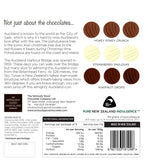 Watercolour Kiwiana Iconic Chocolate 9 box - made in New Zealand by Seriously Good Chocolate Co