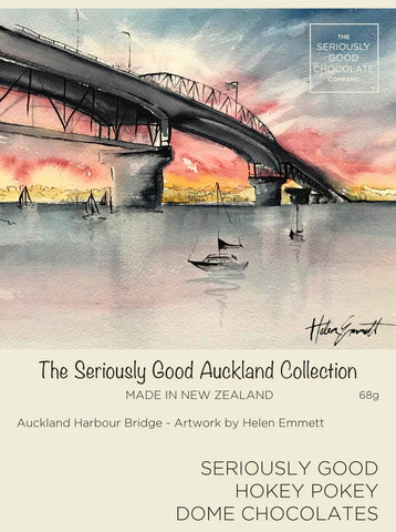 Auckland Watercolour Harbour Bridge – 4 Box