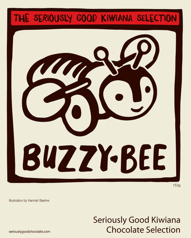 Buzzy Bee - Kiwiana - 9 Box