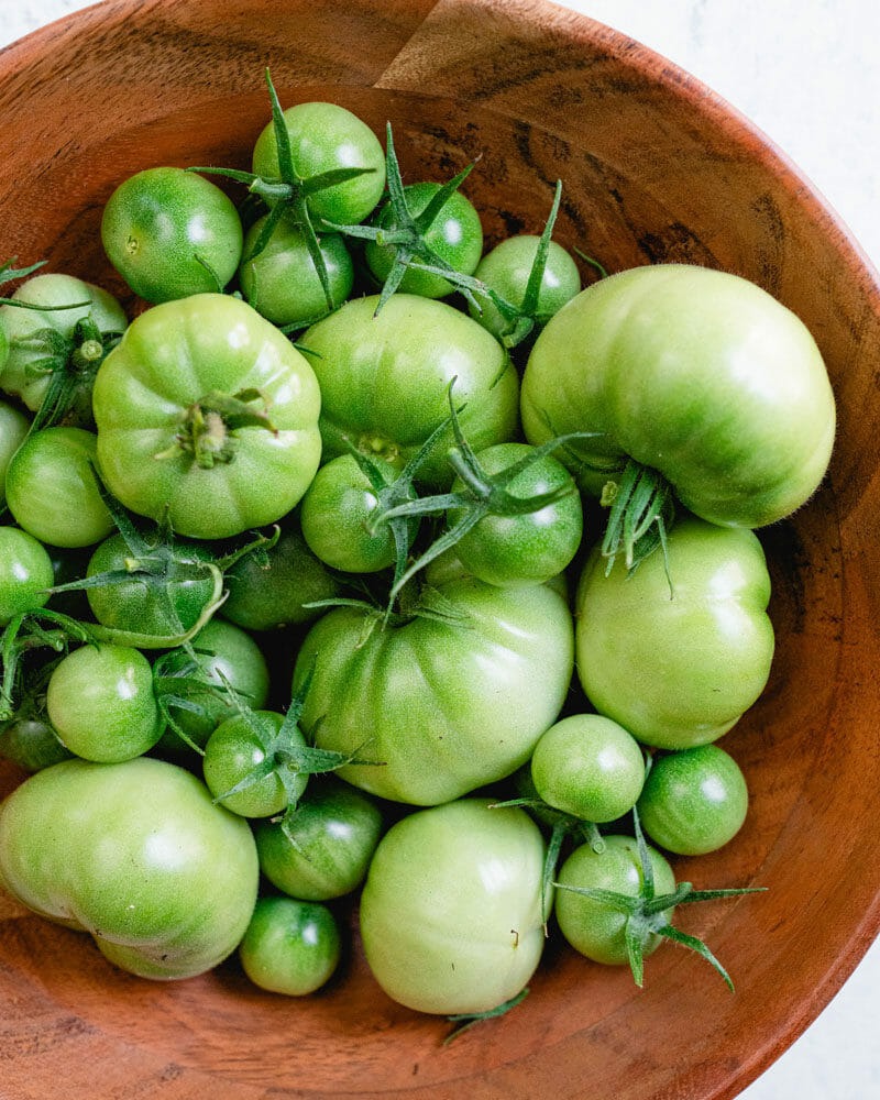 Green Tomato and Pickle Relish