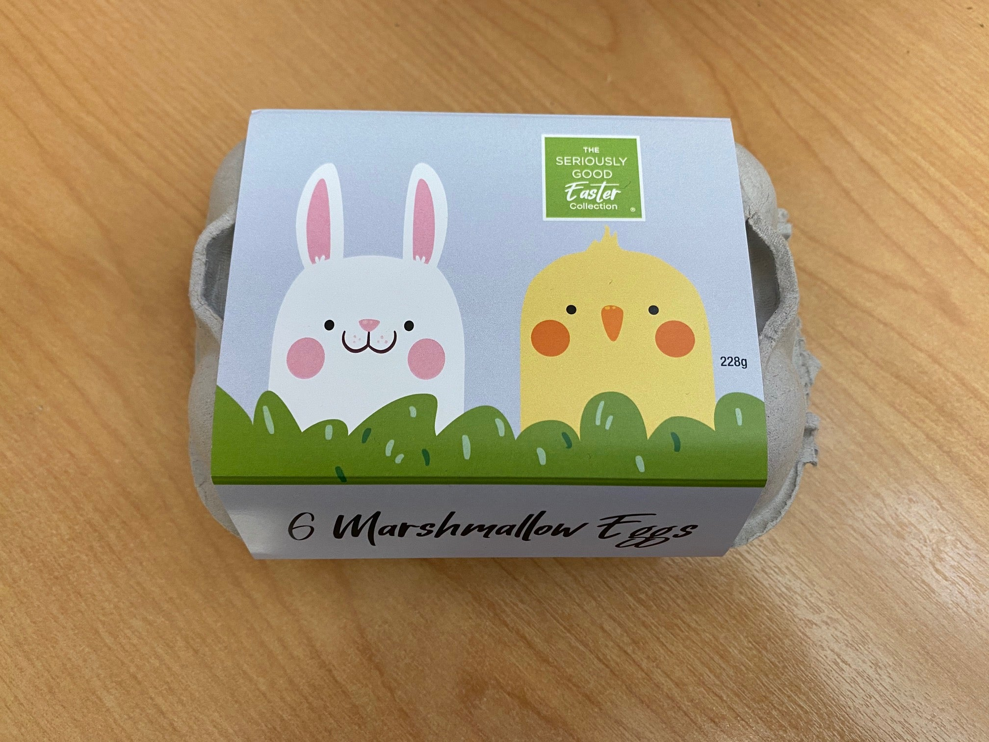 Easter Cartoon - Egg Carton