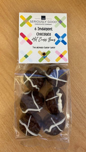 Hot Cross Easter - Hot X Bun chocolates 6 bag