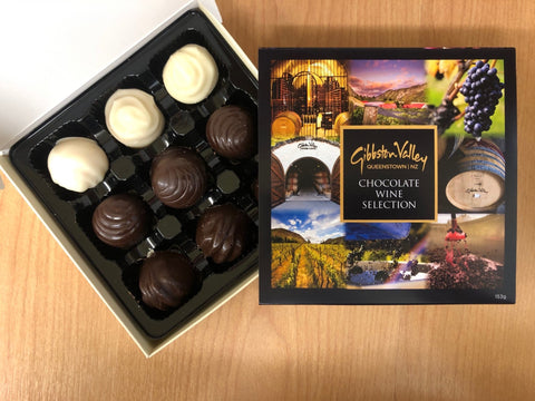 Gibbston Valley Wine Chocolates - 9 Box