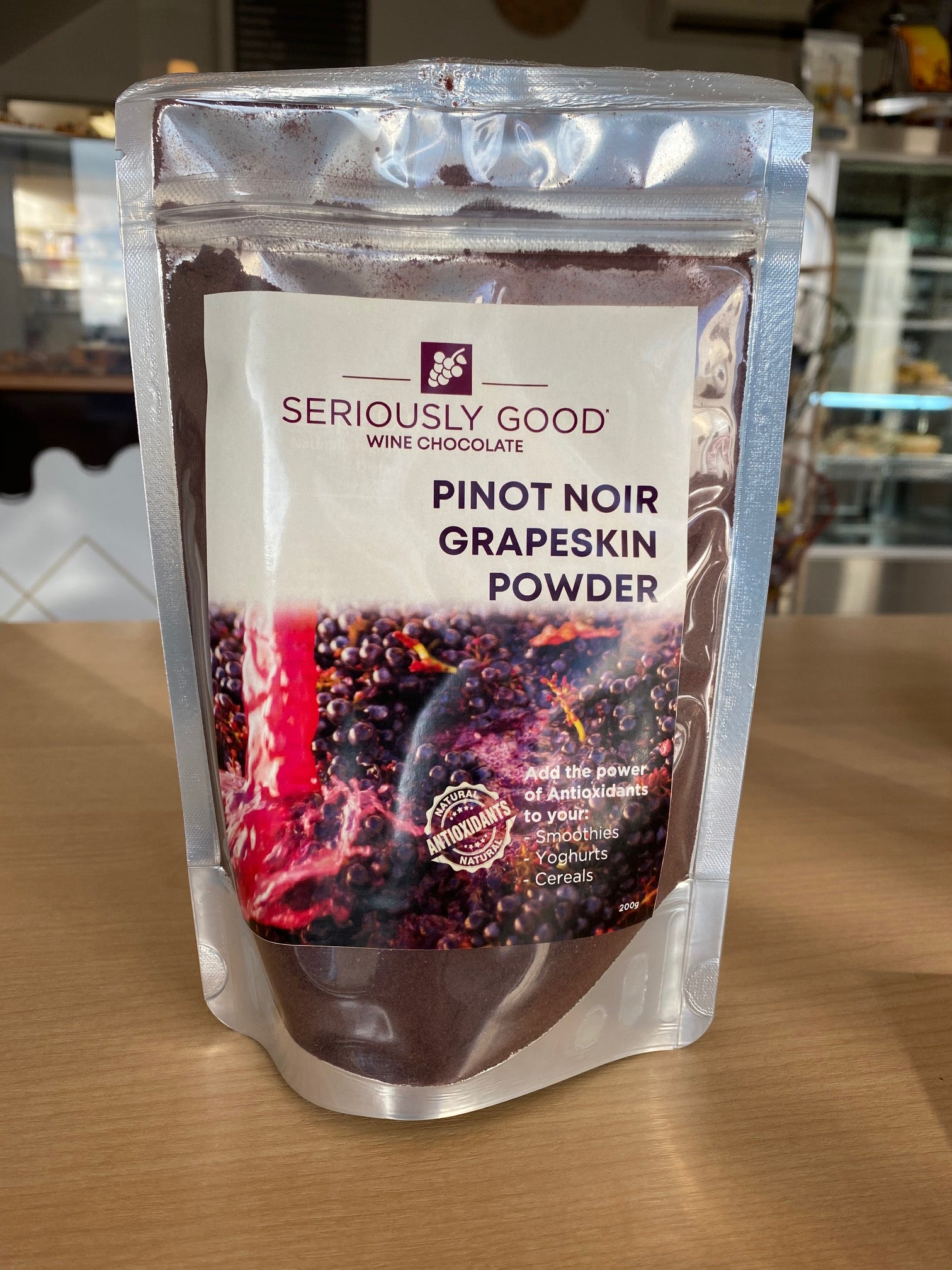 Pinot Noir Grapeskin Powder - Superfood Extract