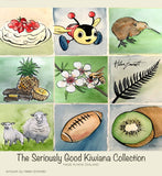 Kiwiana Collection Watercolour NZ chocolates 16 box
