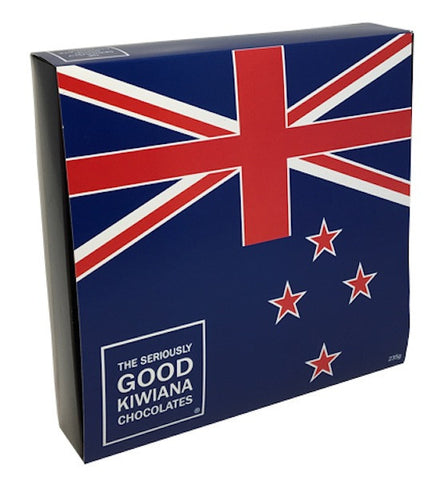 Kiwiana Classic - New Zealand Flag – 16 Box
