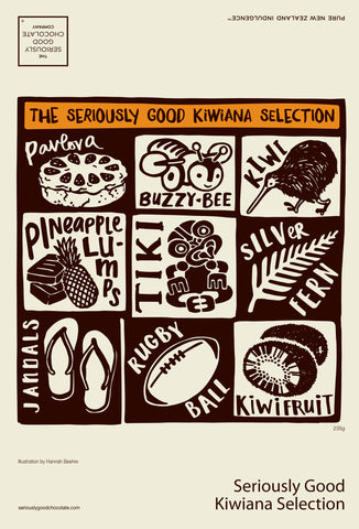 Kiwiana 16 Selection Chocolate Box