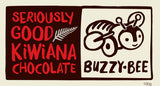 buzzy bee chocolates from the Kiwiana collection