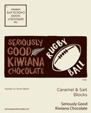 Kiwiana - Rugby Ball - Salty Caramel - Log Box