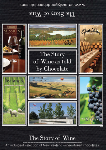 Story of Wine Chocolate vineyards, grape infused chocolate
