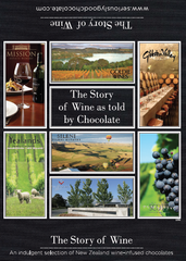 The Story of Wine Told by Chocolate – 16 Box
