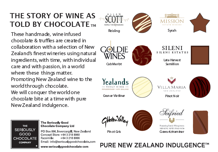 The Story of Wine as told by Chocolate – 16 Box
