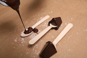 Reindeer Chocolate marshmallow Spoon