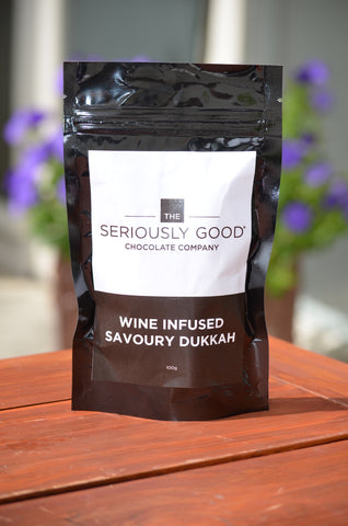 Seriously Good Savoury Wine Infused Savoury Dukkah