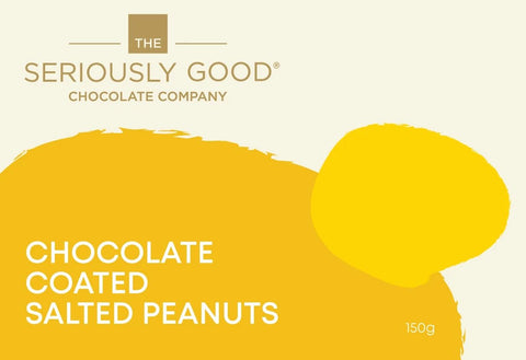Chocolate Coated Salted Peanuts  - Pouch