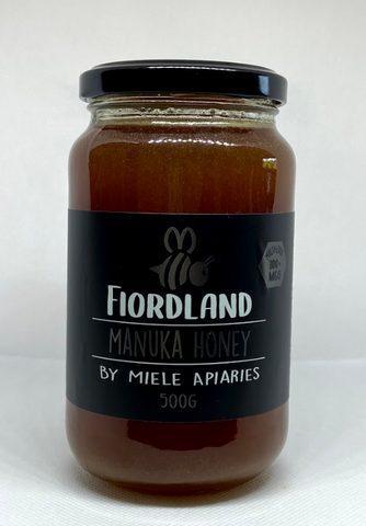 Miele Honey - Fiordland Manuka Honey 100+ MGO 500g
