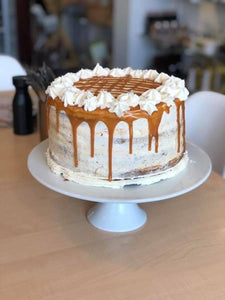 Whole Salted Caramel Cake