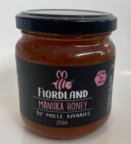 Miele Honey - Fiordland Manuka Honey 70+ MGO 250g
