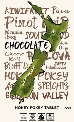 New Zealand words - Hokey Pokey - Tablet