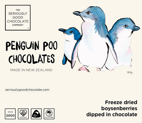 Southern Penguin Poo – Log box