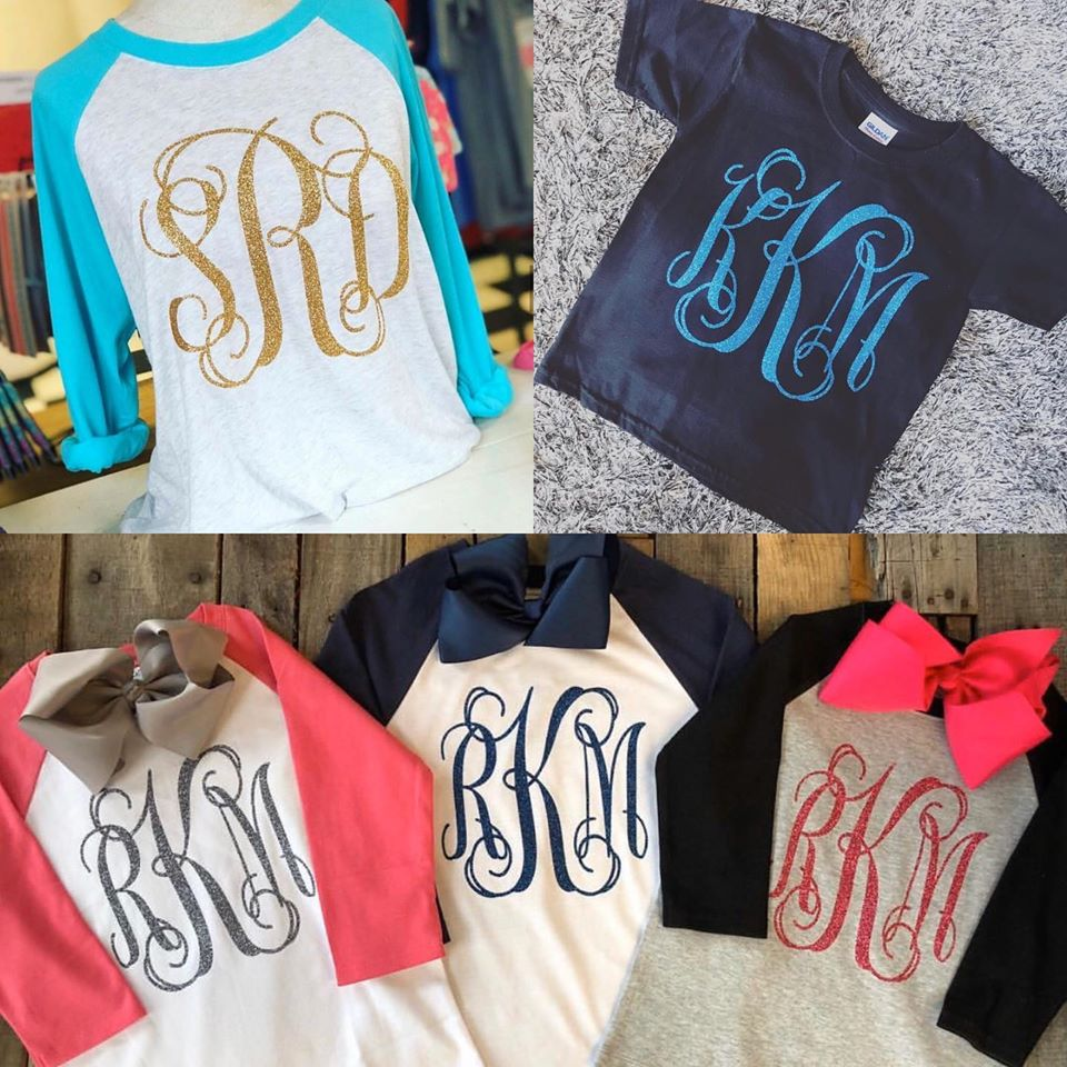 SALE - Surprise Monogram Shirt Sale!!