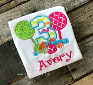 Lollipop Candy Land Themed Emboidered Shirt or Bodysuit