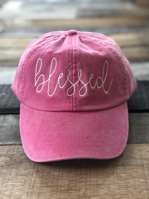 Blessed Hat (Choose Color)