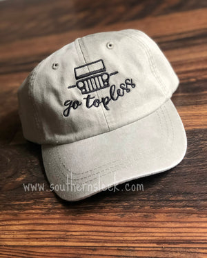 Jeep Go Topless Hat in Any Color
