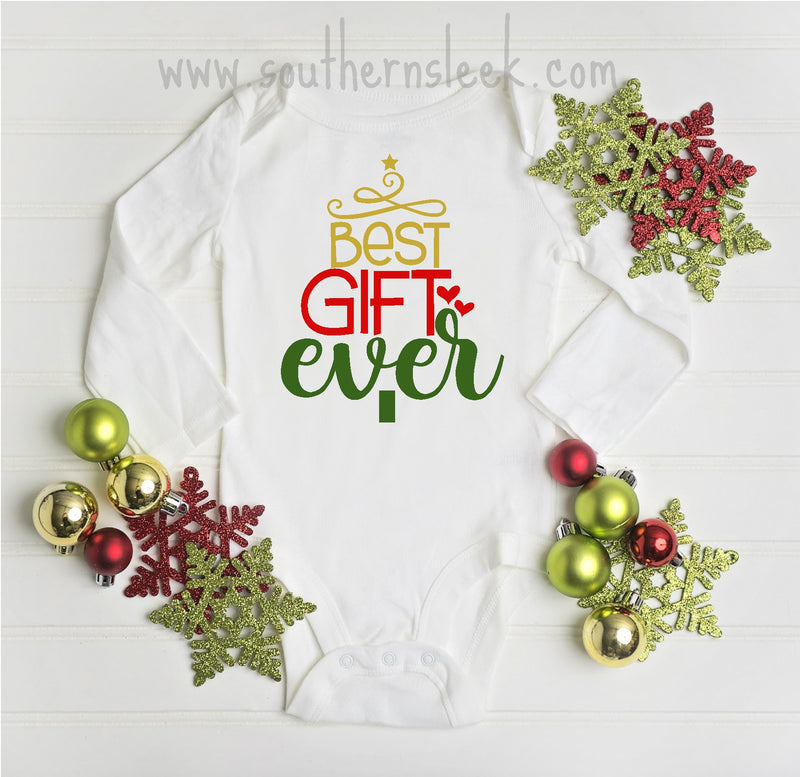 Best Day Ever Christmas Bodysuit or Shirt