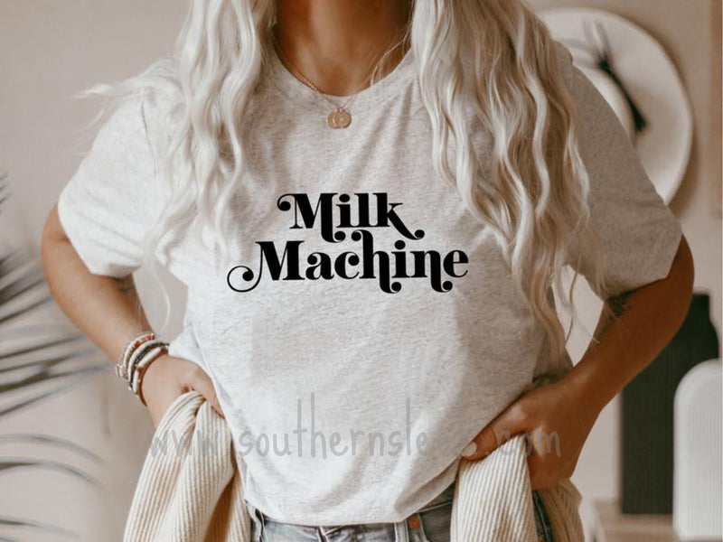 Milk Machine Cream Shirt