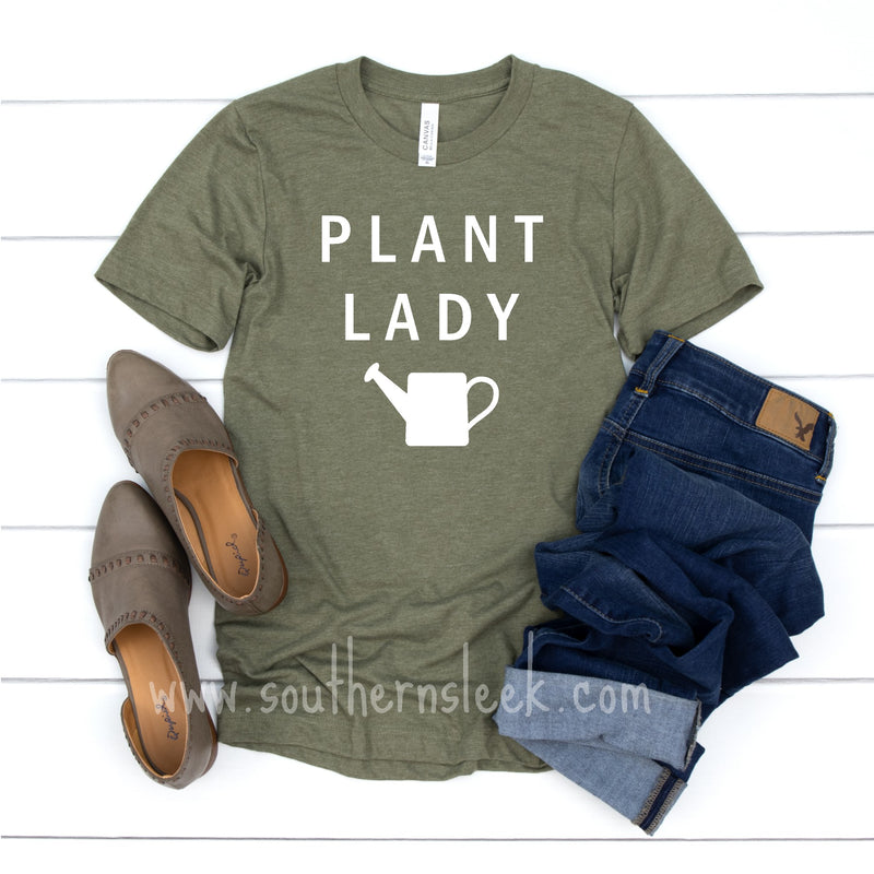 Plant Lady Green Shirt