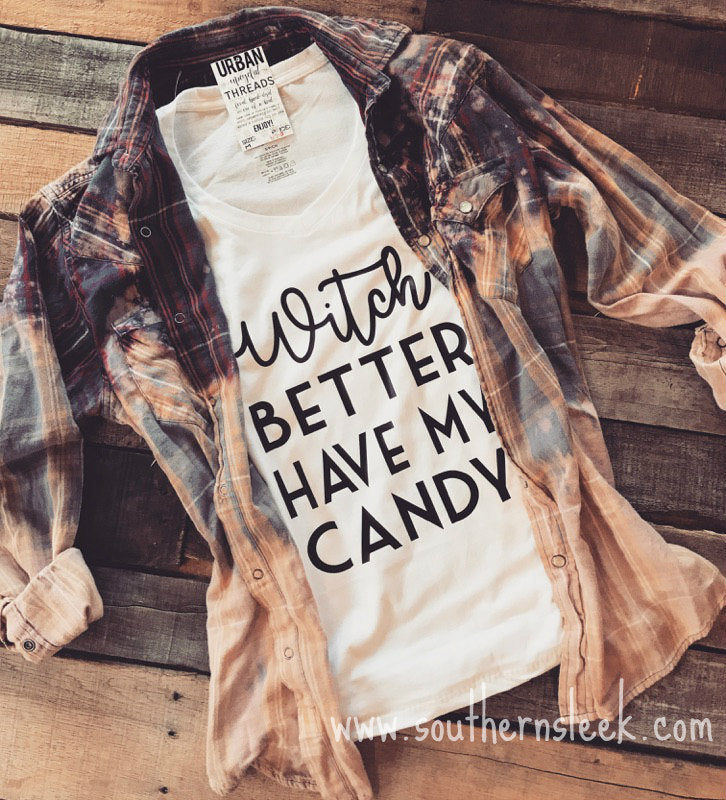 Witch Better Have My Candy V-Neck T-Shirt