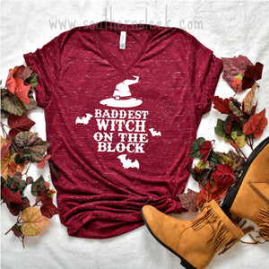 Baddest Witch on the Block Shirt