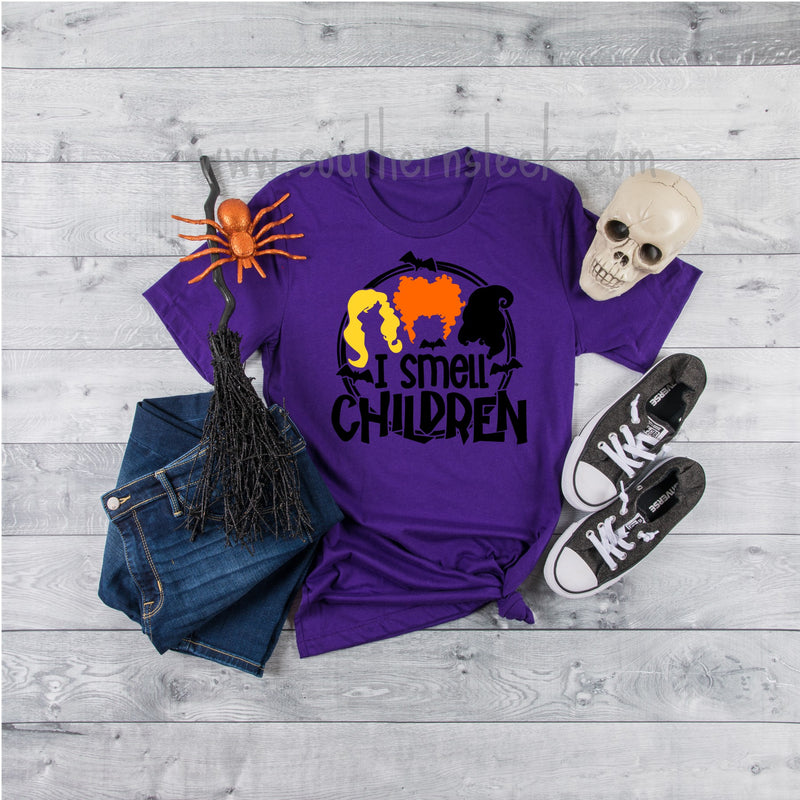 I Smell Children Hocus Pocus Shirt