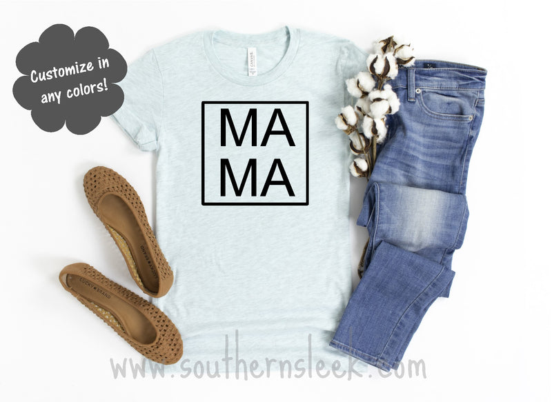 Mama Light Blue Shirt