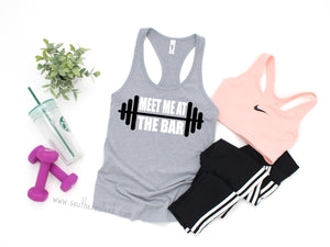 Meet Me At The Bar Racerback Tank Top