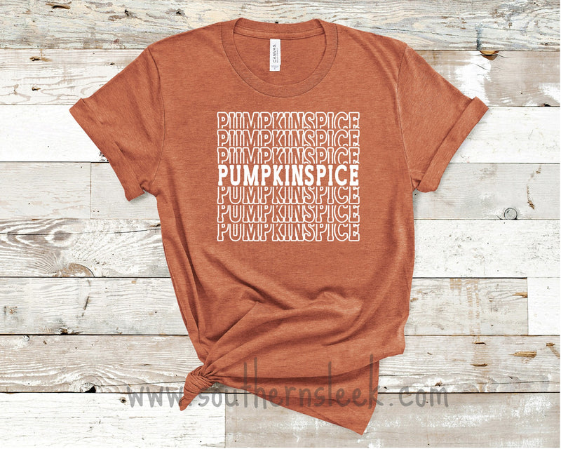 Pumpkin Spice Orange Shirt